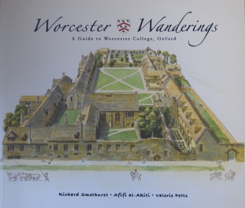 Worcester Wanderings front cover