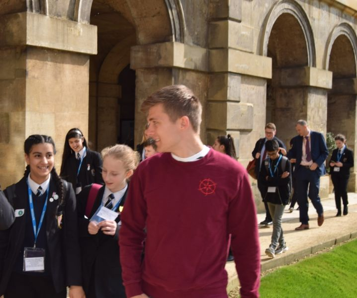 School visit by pupils from Bradford