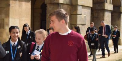 School visit by pupils from Bradford