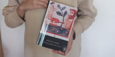 Humeera holds the book