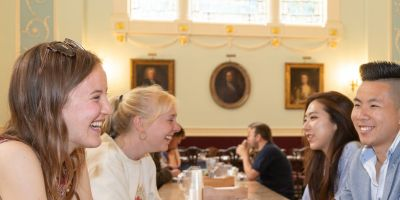 Dining in Hall