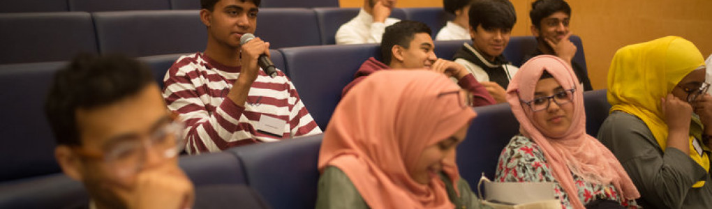 Students listening to a lecture